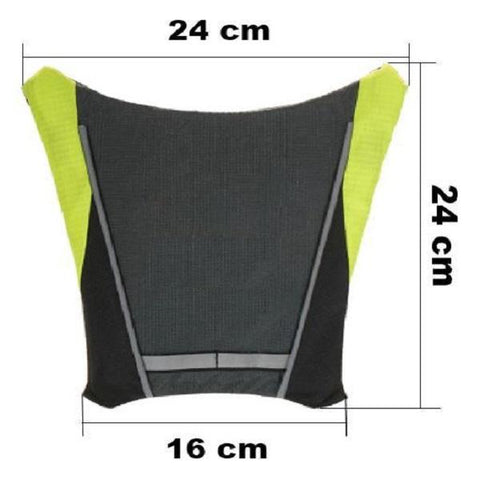 Image of Sécurité Gilet de Cyclisme à LED : Rechargeable par USB-Sécurité Gilet de Cyclisme à LED : Rechargeable par USB-happiershop.com