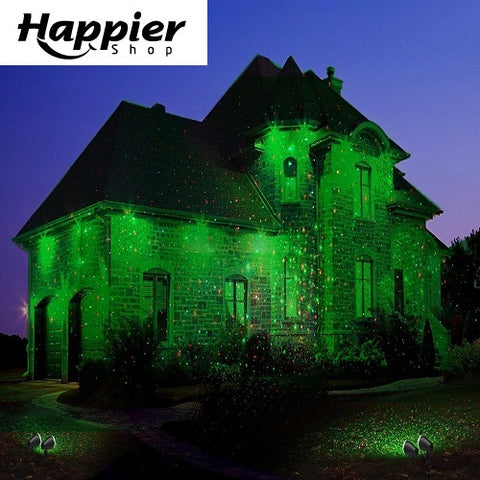 Projecteur Noël LED Ambiance-happiershop.com