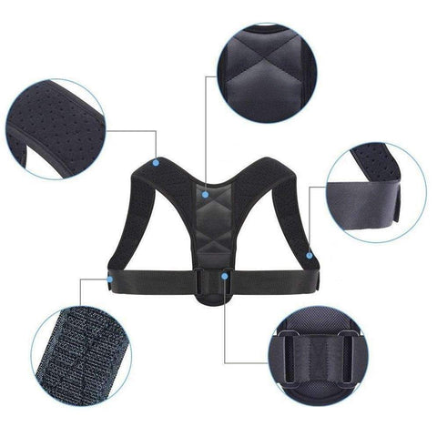 Image of Correcteur de Posture Ajustable Happier ™-Correcteur de posture-happiershop.com