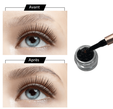 Gel en Fibre d'Extension Sourcils-Gel en Fibre d'Extension Sourcils-happiershop.com