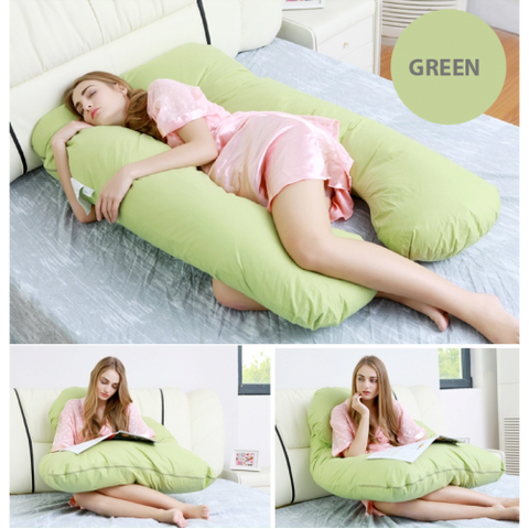 Image of Oreiller Ergonomique forme U coussin confortable Multi Position- happiershop.com