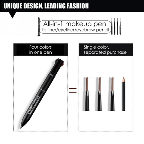 Stylo de Maquillage 4 en 1-Stylo de Maquillage 4 en 1-happiershop.com