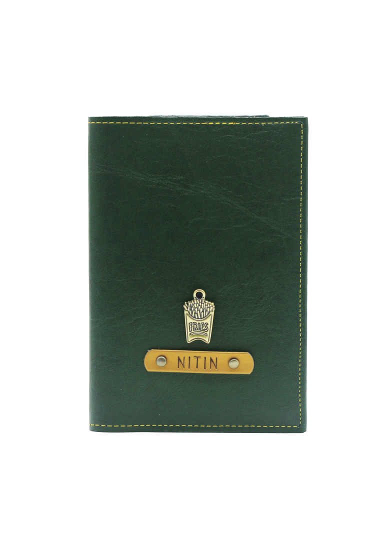 Forest Green Passport Cover