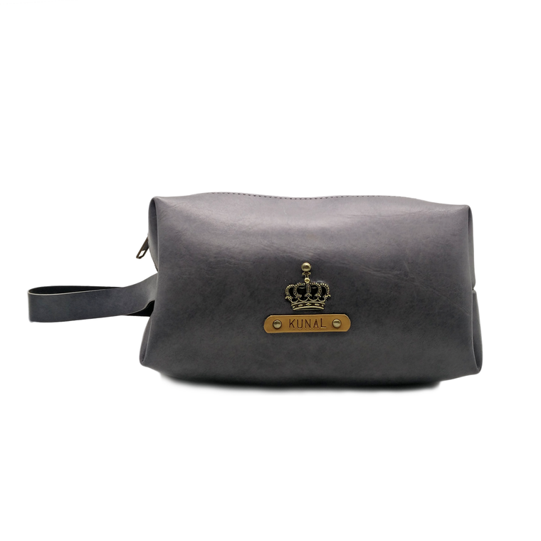 Large - Grey pouch