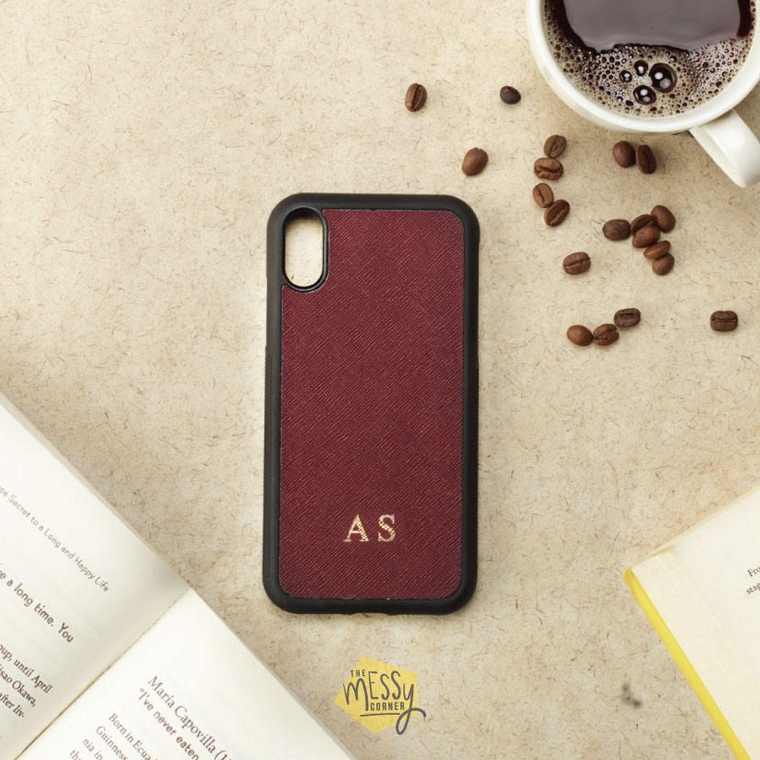 Personalised iPhone Cover - Wine