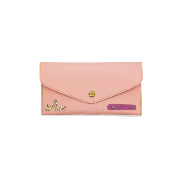 Salmon Pink Womens Wallet