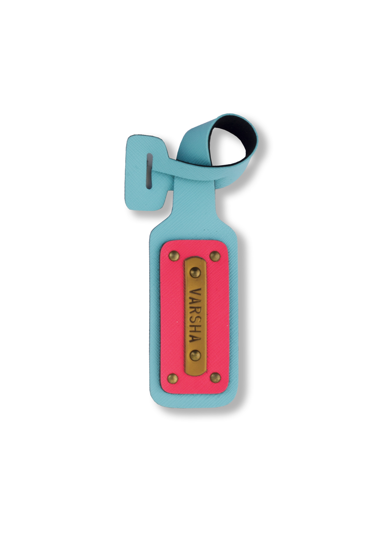 Light Blue- Luggage tag