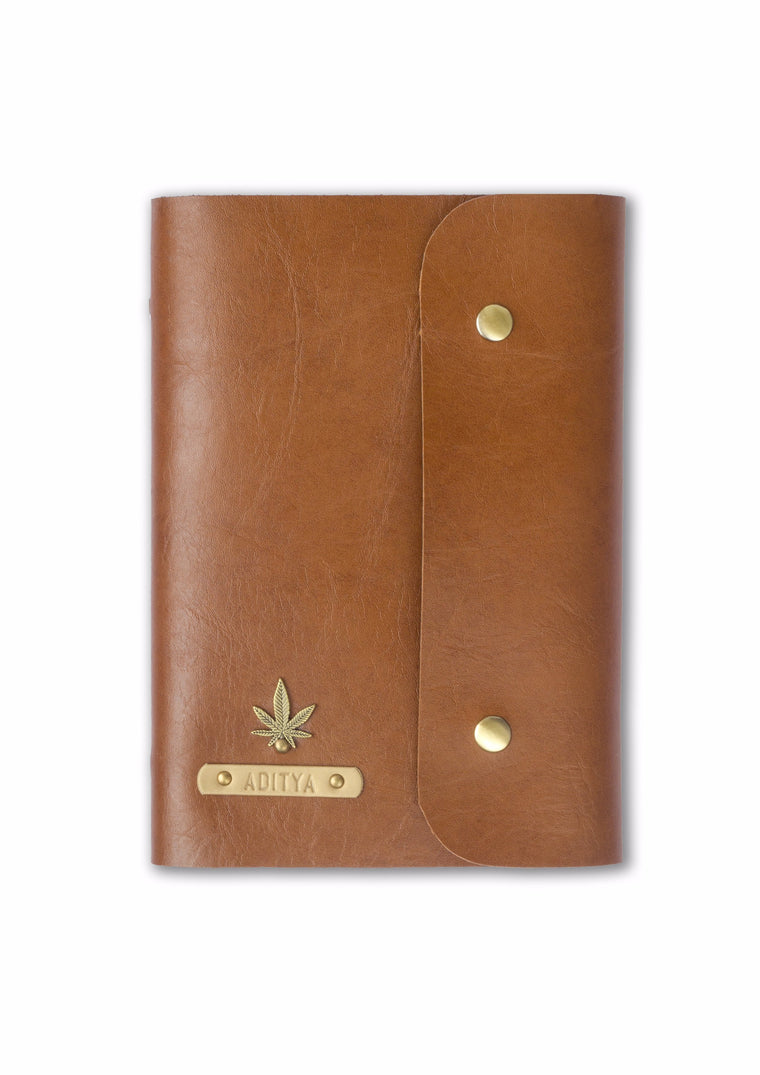Brown Button Diary