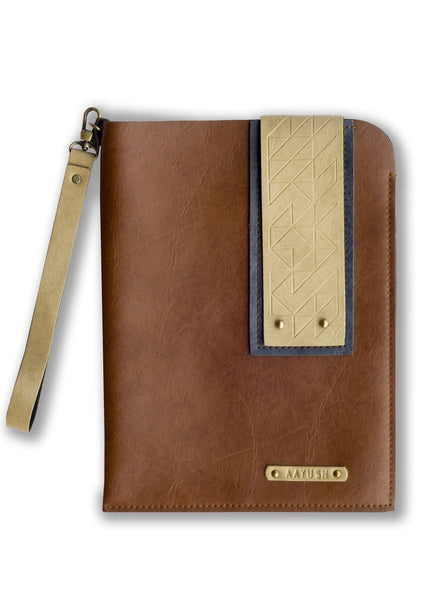 Tan Ipad Sleeve - Themessycorner