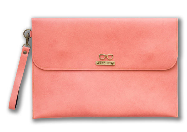 Peach Laptop Sleeve - Themessycorner