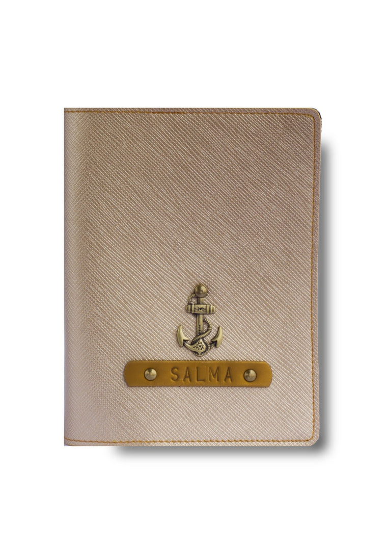 Gold Passport Cover