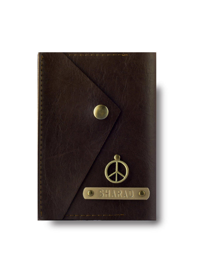 Dark Brown Executive Passport Cover