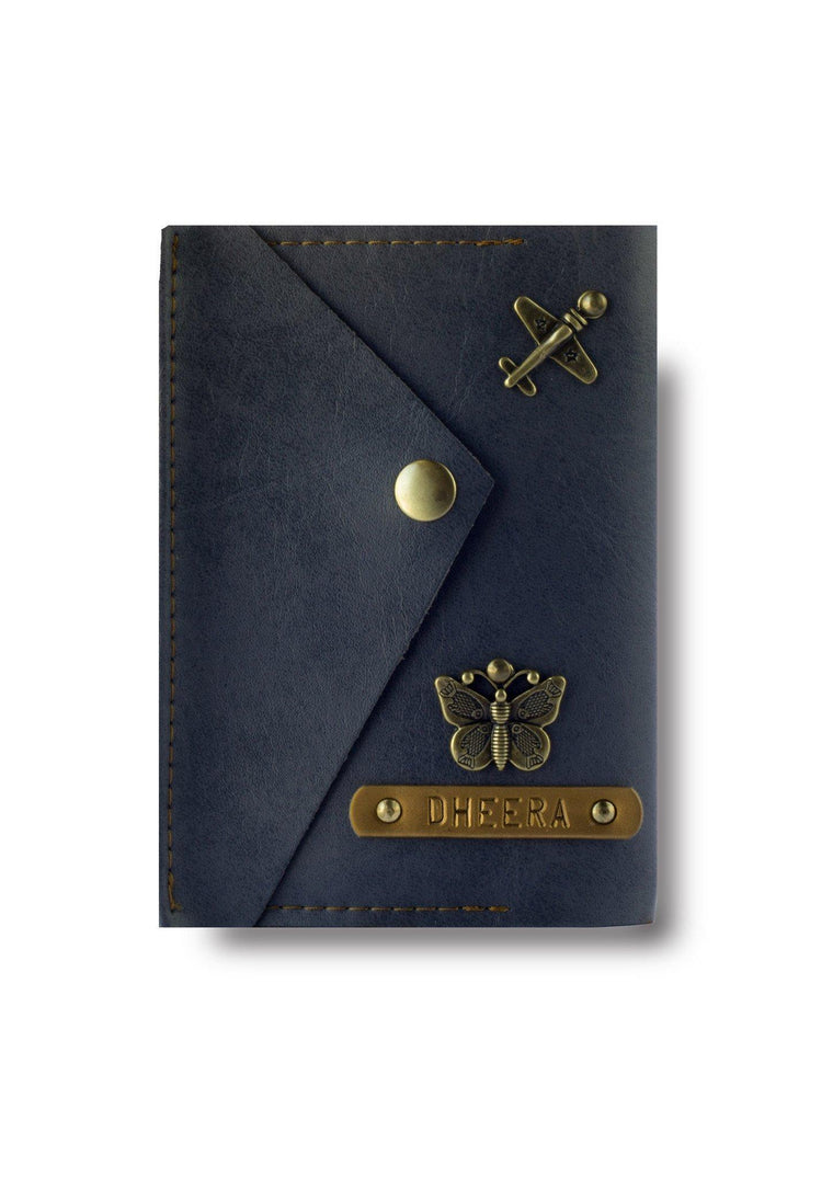 Grey Executive Passport Cover