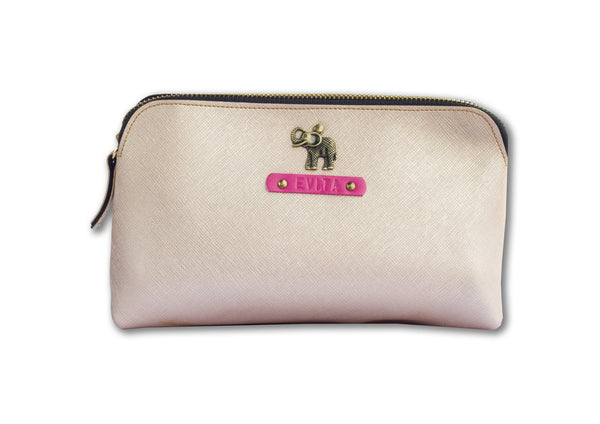 Rose Gold Carry All Pouch - Themessycorner