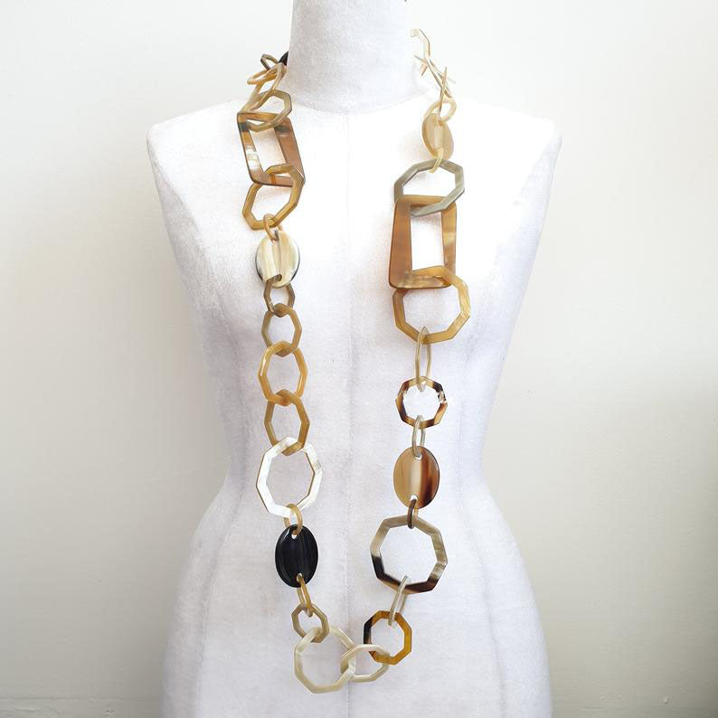Jewelry Dynasty Collection C Horn Necklace