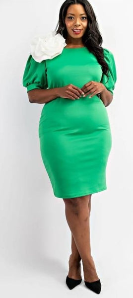 Green Pea Dress