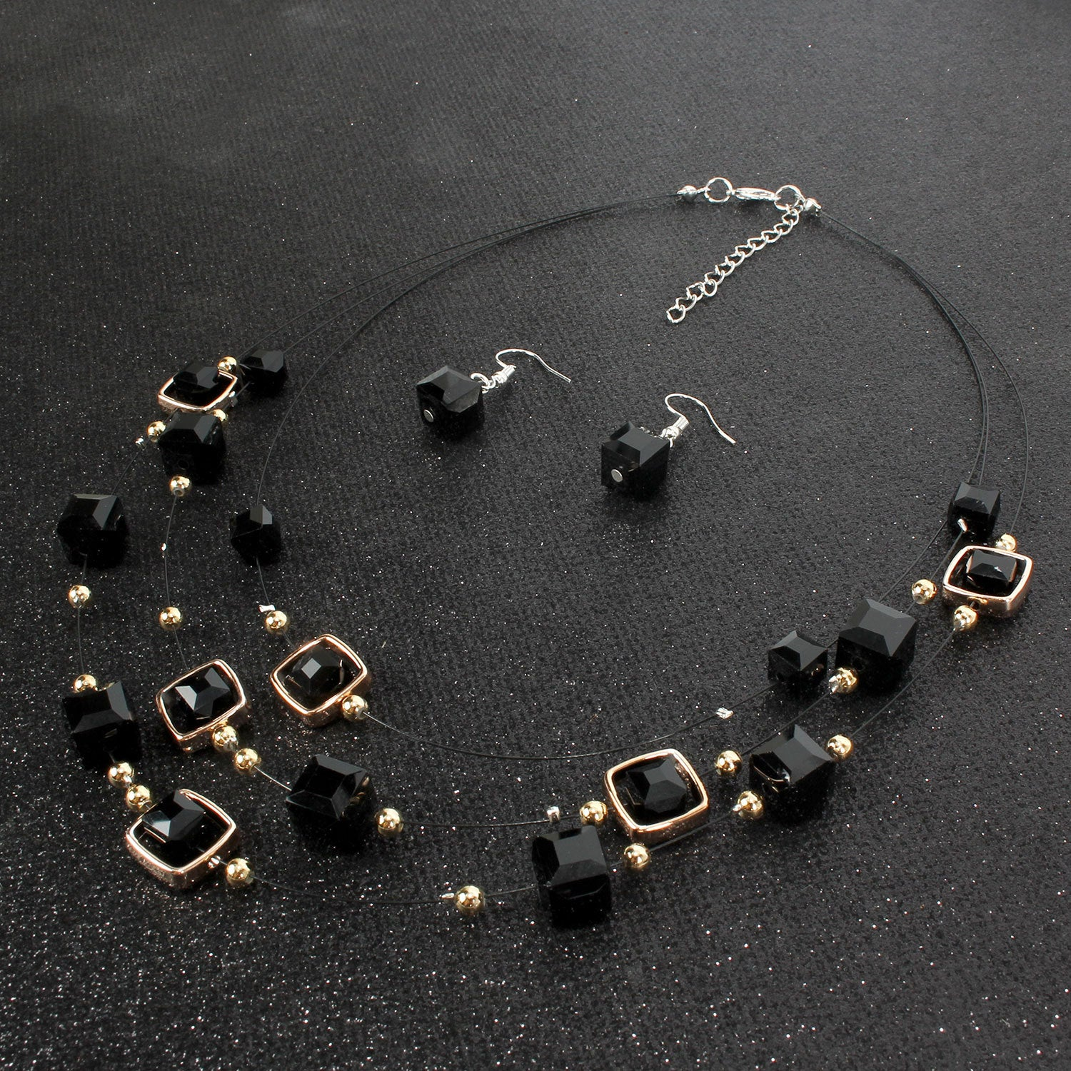 Jewelry Ice Cube Necklace