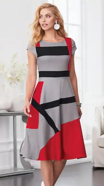 Lines and Angles Dress