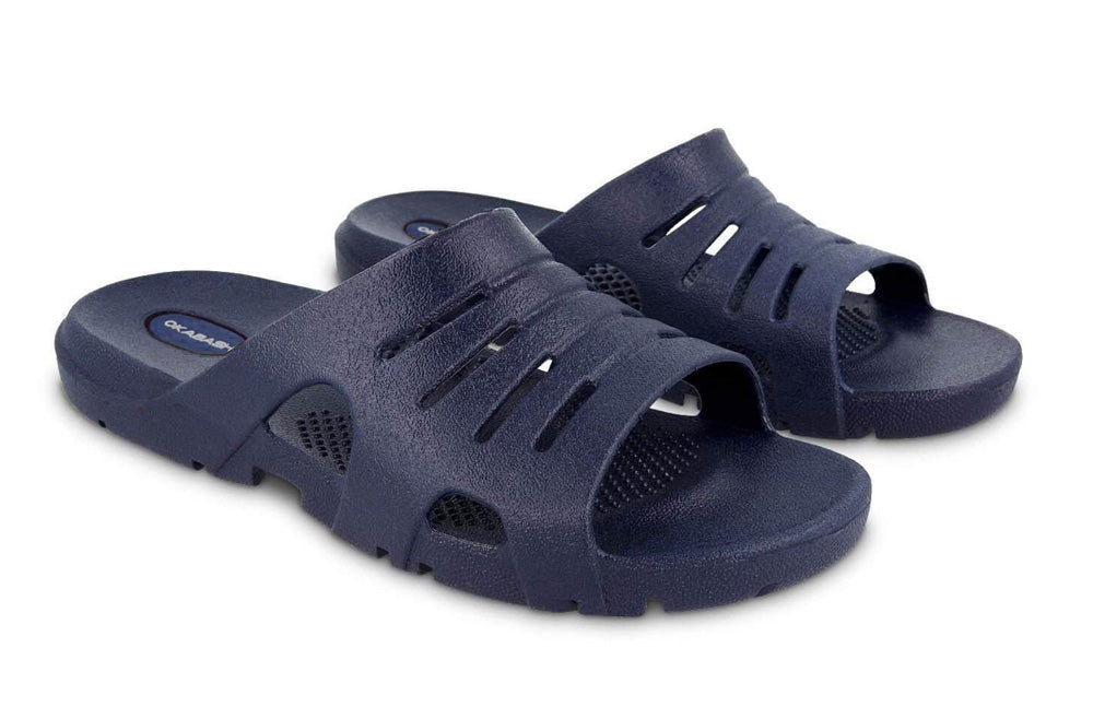 Eurosport Mens navy sandals Okabashi shoes