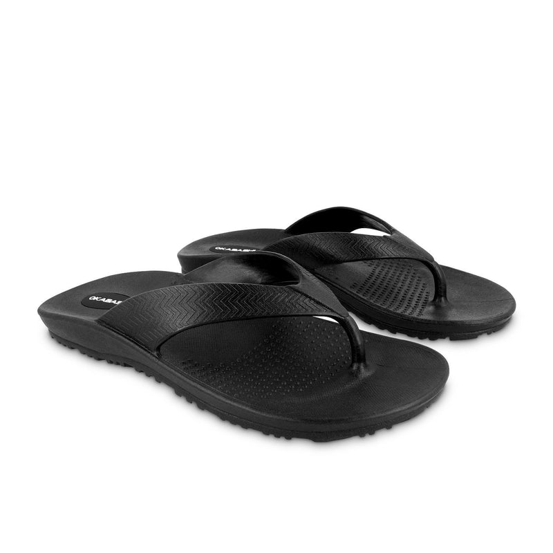 "c0b231972f765 ""At 46 and suffering from planters fasciitis these were my first ever  flip  flops ... These are AMAZING! Super arch support makes my sore feet not so  sore."""