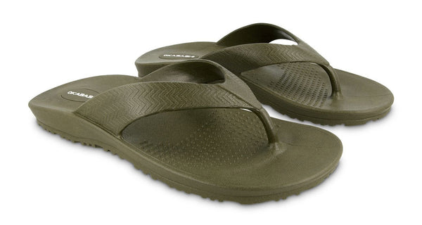 Okabashi Surf Men's Flip Flop, Green