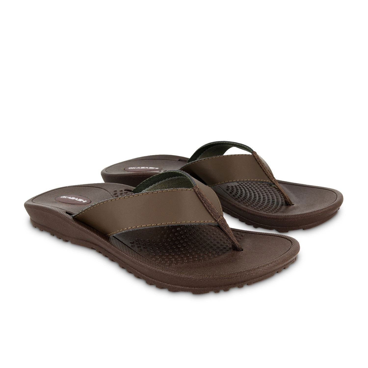 Mens Flip Flops And Sandals - American Made - Okabashi Shoes-7986