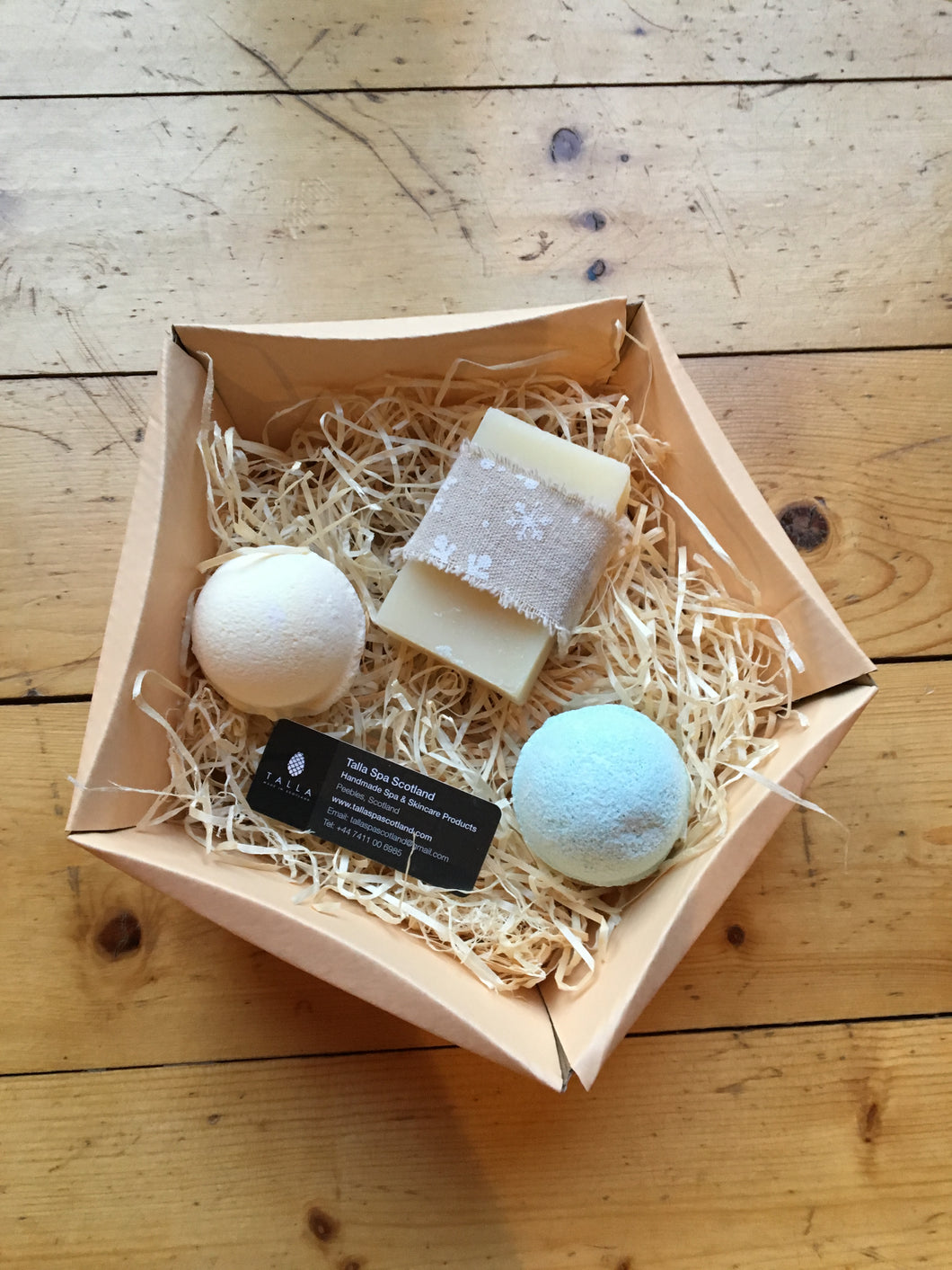 Luxury Winter Spa Collection Gift Box