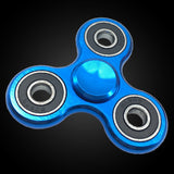 Blue Metal Spinner - Hand fidget