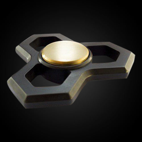 Hexagon Standard Black - Hand Fidget