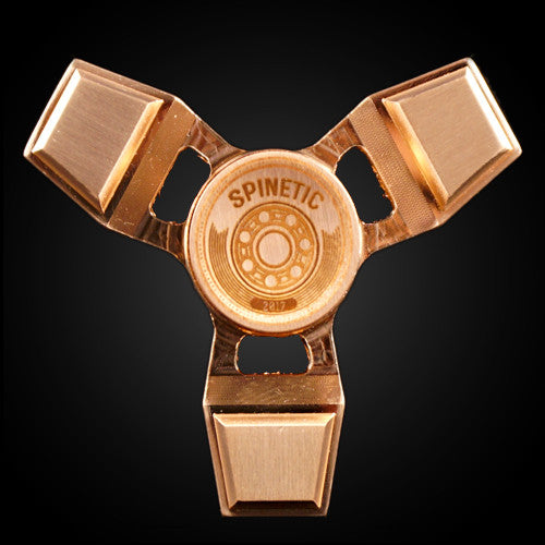 Spinetic Y (Copper) - Fidget Hand Spinner