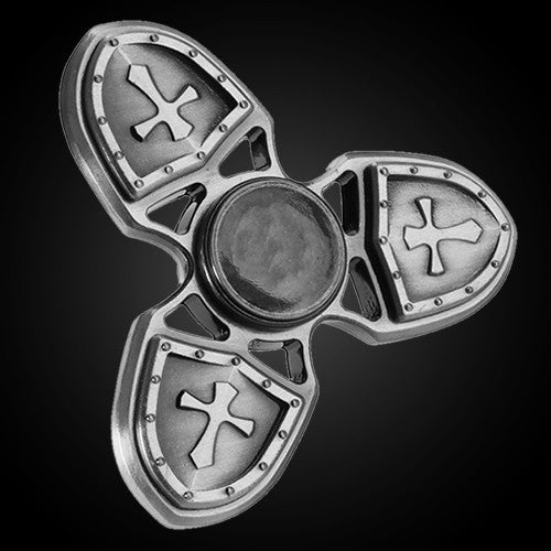 Tri Shield Spinner - Hand Fidget