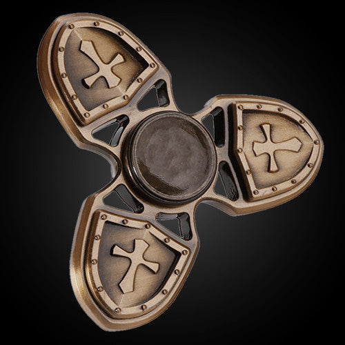 12 Aimons Fidget Spinner Metal Shield Captain Amerika