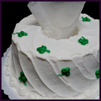 Shamrock Angel Food Cake