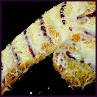 Candy Cane Coffee Cake