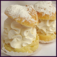Mini Whipped Cream Puffs