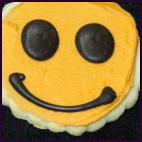 Orange Smile Cookie