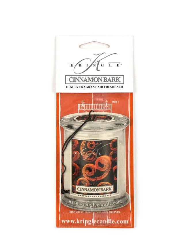 Kringle Candles Cinnamon Bark Car Air Freshener