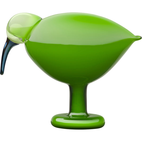 Iittala Toikka Birds Green Ibis 20.5cm by 16.5cm