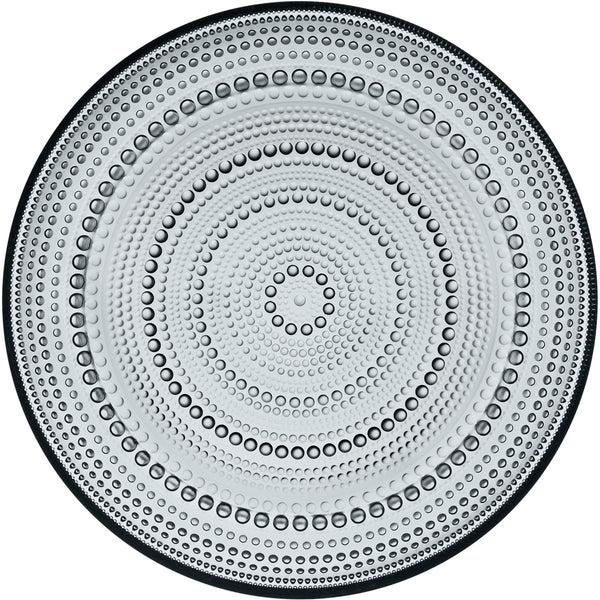 Iittala Kastehelmi Grey Decorative Plate 24.8cm