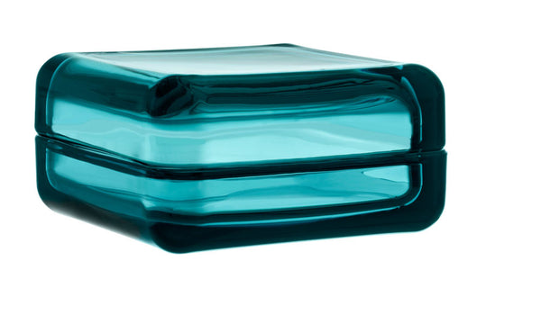 Iittala Vitriini Sea Blue Box 10.8cm by 10.8cm
