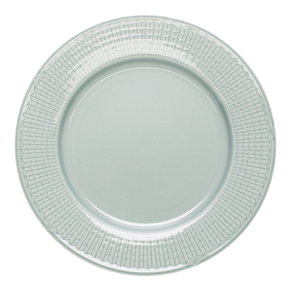 Rorstrand Swedish Grace Ice Grey Dinner Plate 27cm