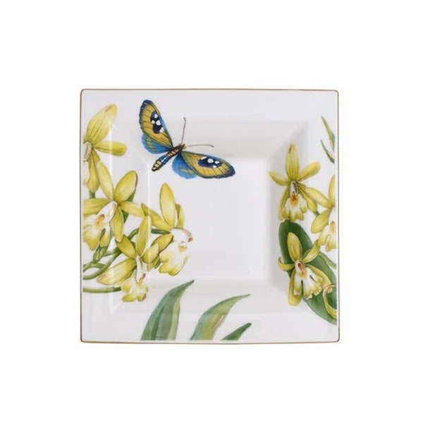 Villeroy and Boch Amazonia Square Decorative Bowl 14cm by 14cm