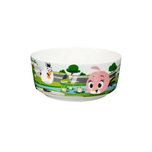 Iittala Angry Birds Stella And Matilda CereaL Bowl 15cm