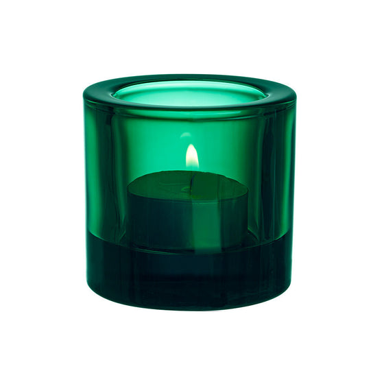 Iittala Kivi Emerald Tealight Holder 6cm (Boxed)