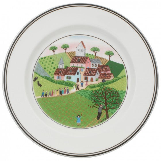 Villeroy and Boch Design Naif Marriage Tea Plate 17cm