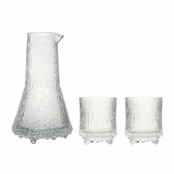Iittala Ultima Thule Clear O.F. Tumbler 20cl And Pitcher 50cl (3 Piece Set)