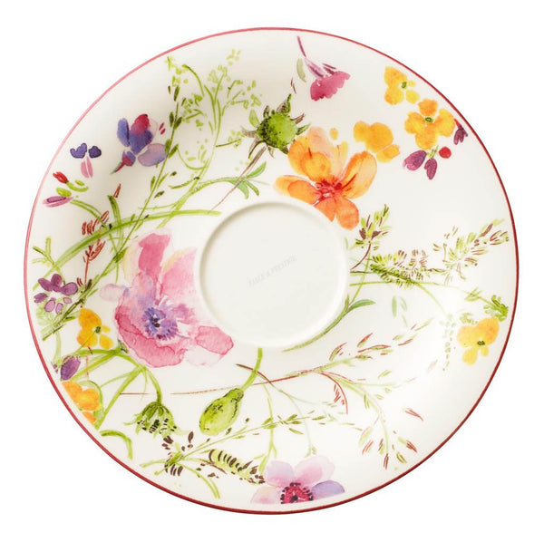 Villeroy and Boch Mariefleur Floral Breakfast Saucer 19cm (Saucer Only)