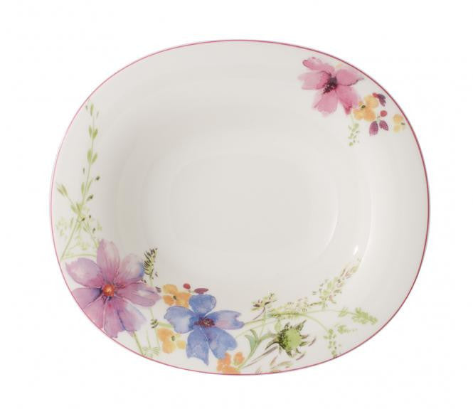 Villeroy and Boch Mariefleur Oval Deep Plate 24cm by 21cm