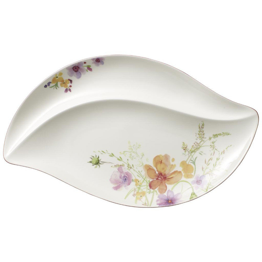 Villeroy and Boch Mariefleur White Serving Plate 50cm by 30cm