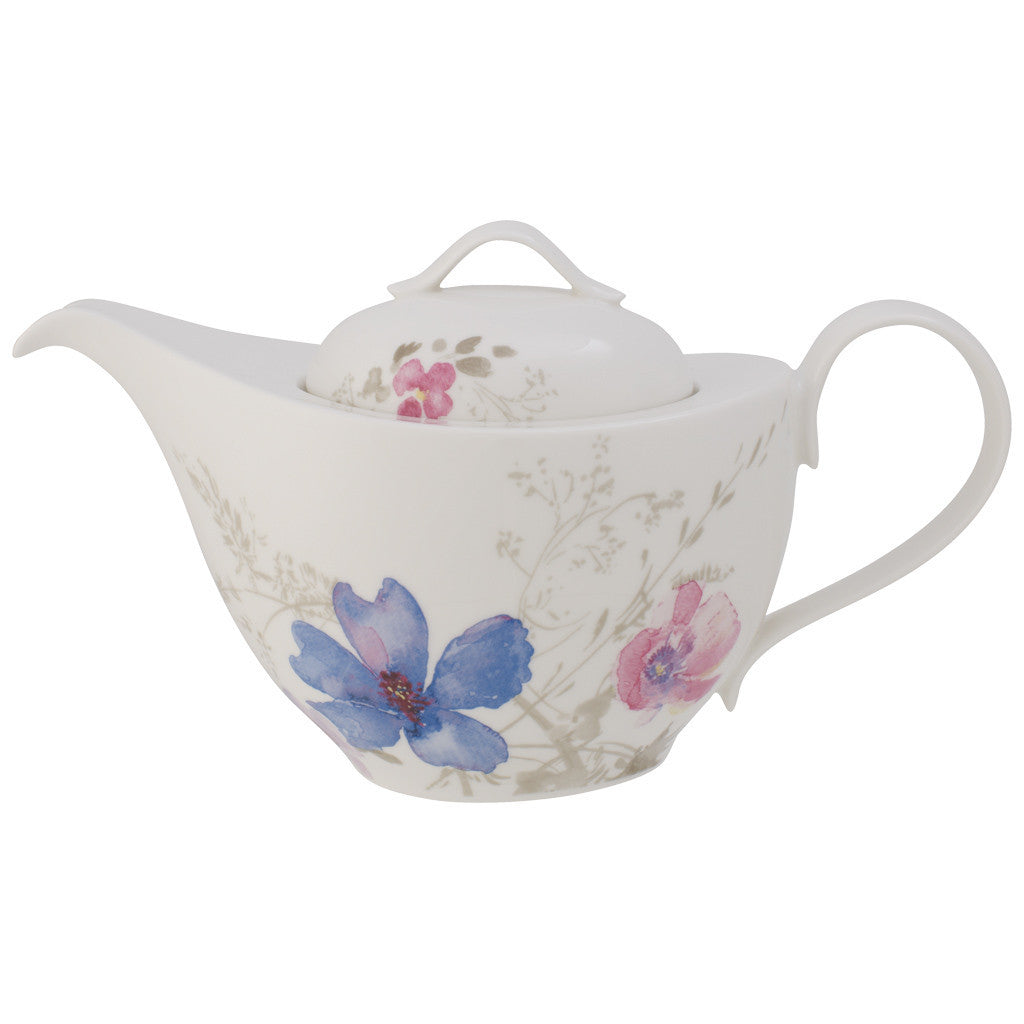 Villeroy and Boch Mariefleur Gris Teapot for 6. 1.00L